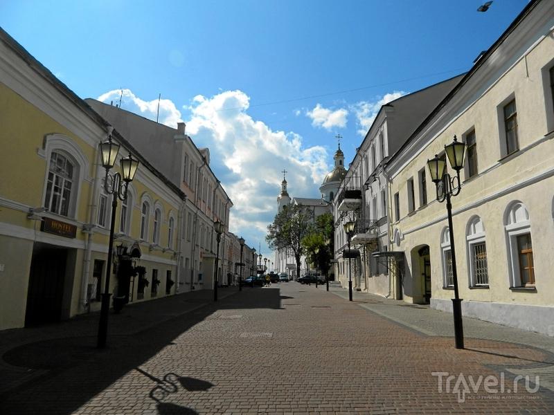 Улица Комиссара Крылова в Витебске, Белоруссия  / Фото из Белоруссии