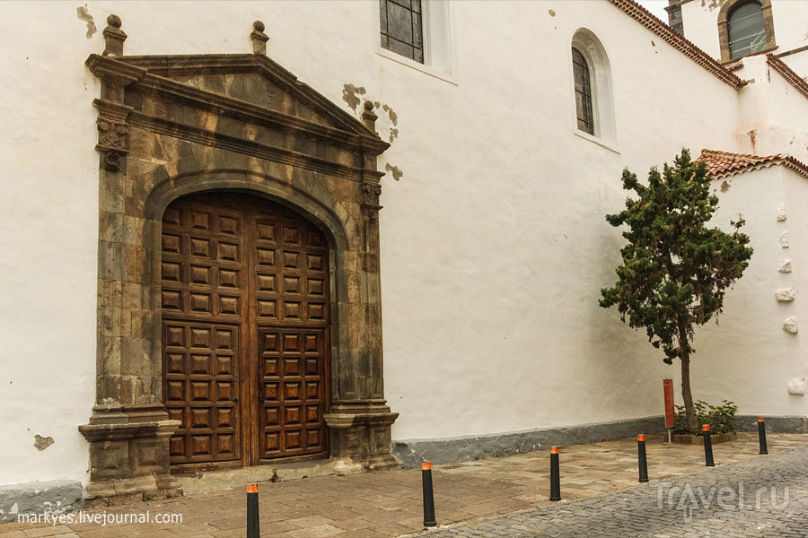 Церковь Святой Анны в Гарачико на острове Тенерифе, Испания / Фото из Испании