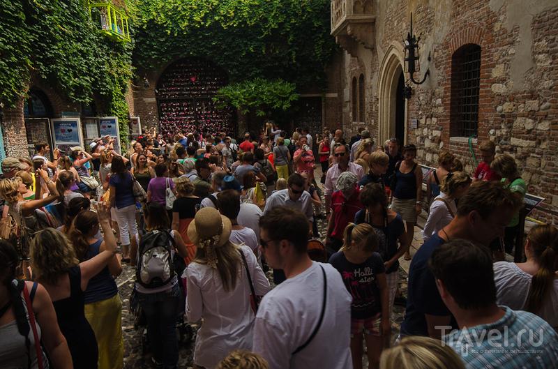 Дом Джульетты в Вероне, Италия / Фото из Италии