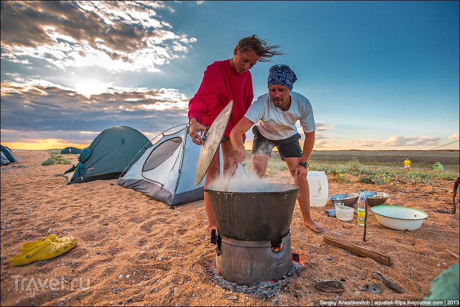 С палаткой к морю на 9 дней. Как это было / Украина