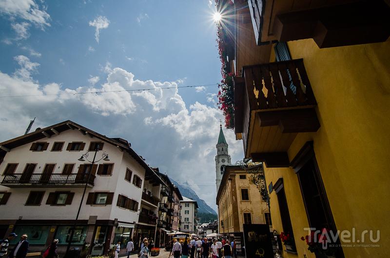 Отличная неделя в прекрасной Италии. Кортина-д'Ампеццо / Фото из Италии
