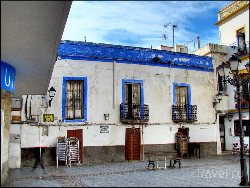 Площадь Plaza de San Hiscio в Тарифе, Испания / Фото из Испании