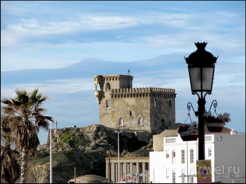 Крепость Santa Catalina в Тарифе, Испания / Фото из Испании