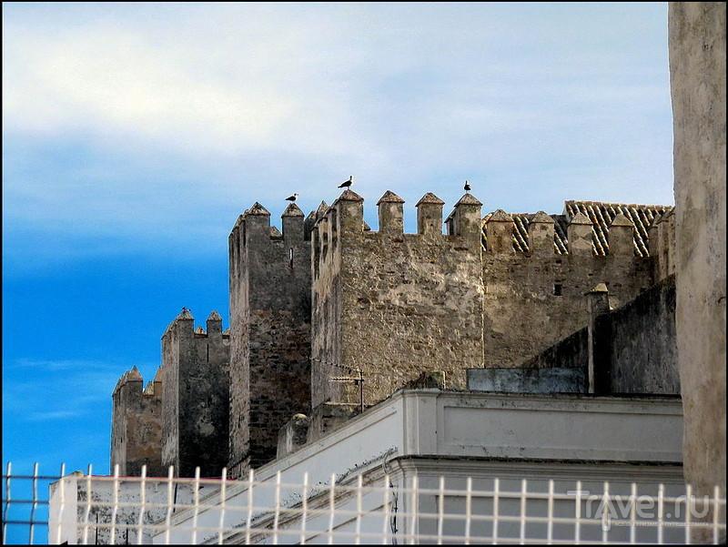 Крепость Guzman el Bueno в Тарифе, Испания / Фото из Испании