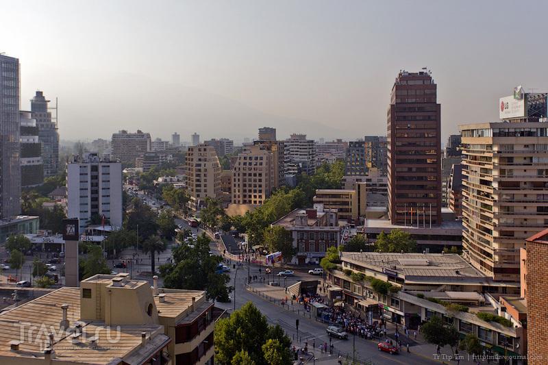 В городе Сантьяго, Чили / Фото из Чили