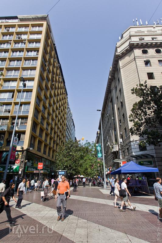 От небоскрёбов к трущобам Сантьяго / Фото из Чили
