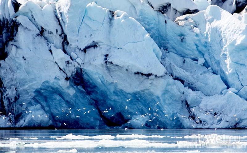 Ледник Vatnajoekull, Исландия / Фото из Исландии