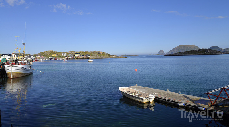 В деревне Gjesvaer, Норвегия / Фото из Норвегии