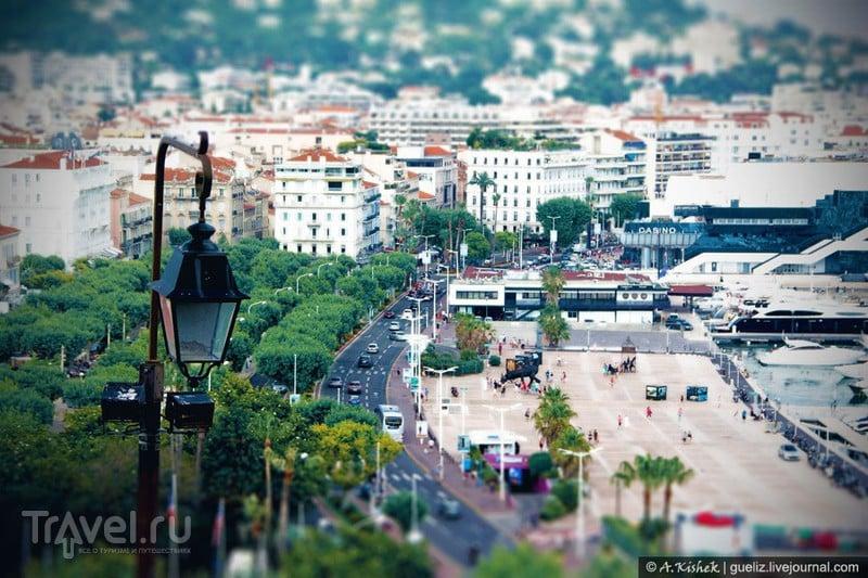 В городе Канны, Франция / Фото из Франции