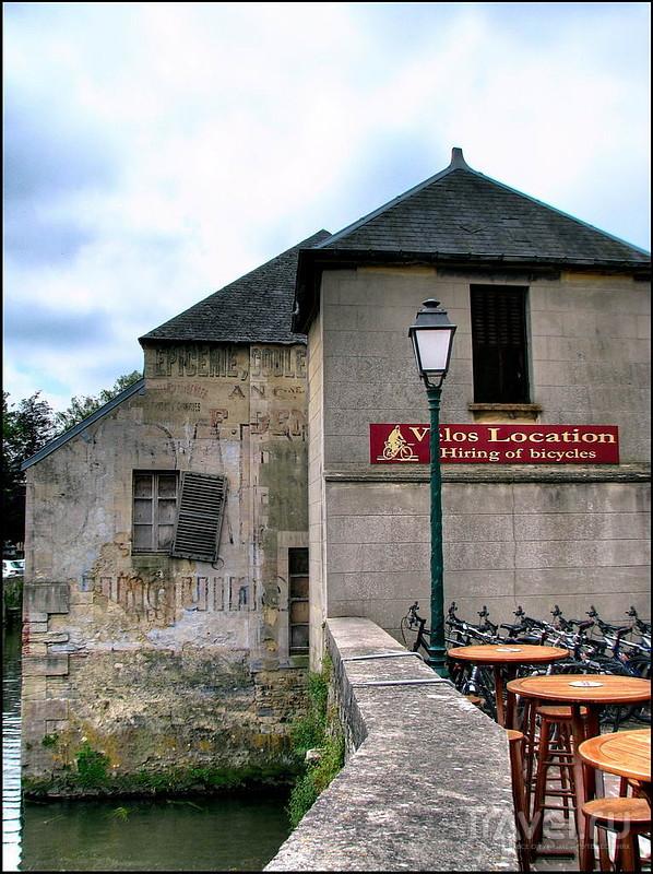 Река L'Aure в Байё, Франция / Фото из Франции