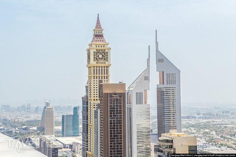 Джумейра-Эмирейтс-Тауэрс (Jumeirah Emirates Towers Hotel) в Дубае, ОАЭ / Фото из ОАЭ