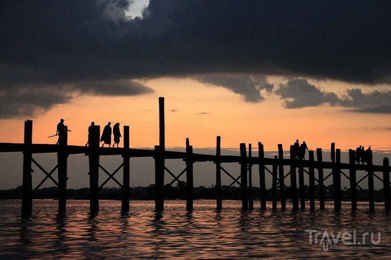 The Spirit of Indochina. Амарапура, Мьянма / Фото из Мьянмы