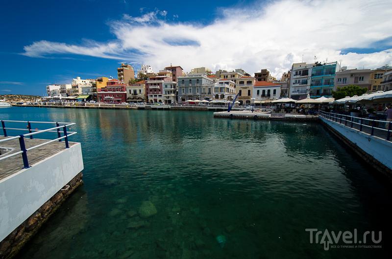 Набережная Иосифа Кундуроса в Агиос-Николаосе, Греция / Фото из Греции