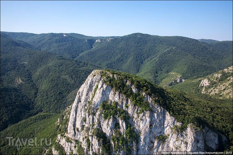 Гора Орлиный Залет, Украина / Фото с Украины
