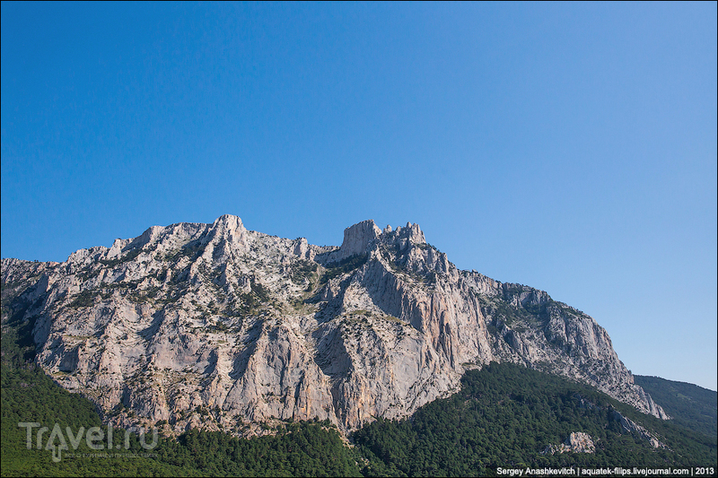 Ай-Петри и гора Вестрон, Украина / Фото с Украины