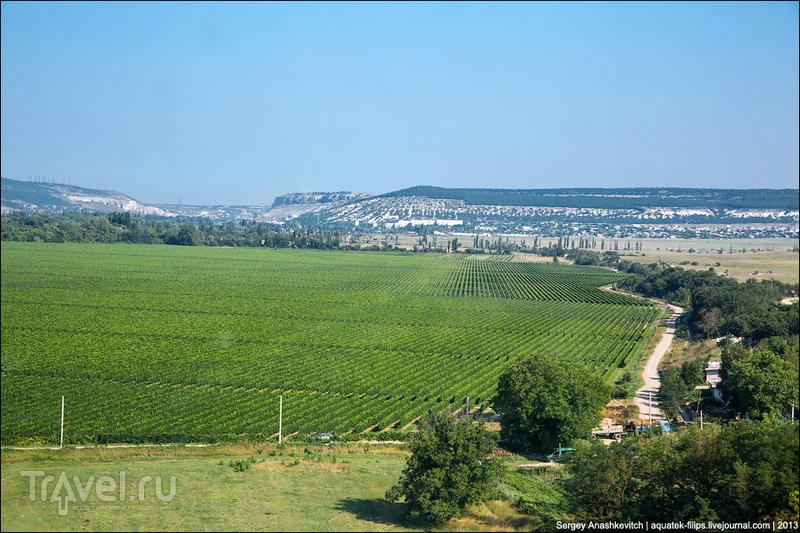 Крым с вертолета / Фото с Украины