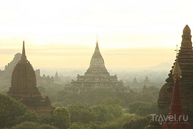 В Багане, Мьянма / Фото из Мьянмы