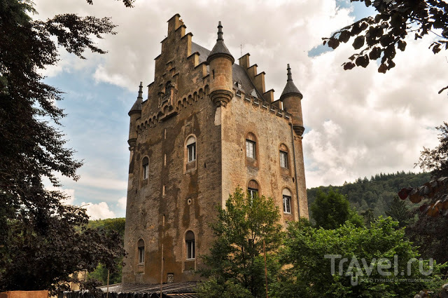 Замок Schoenfels, Люксембург / Фото из Люксембурга