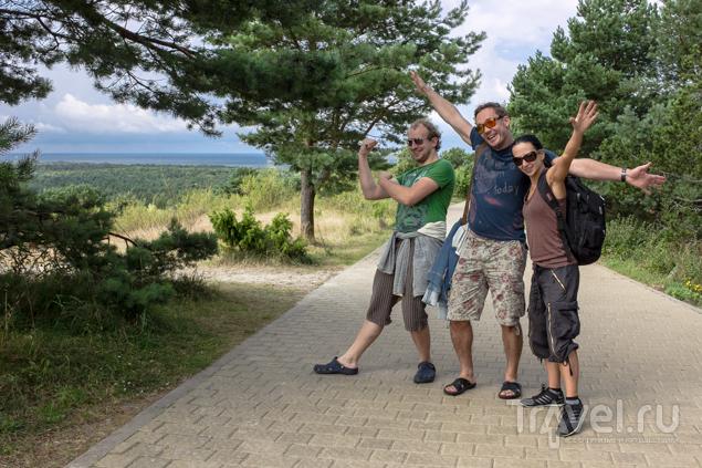 Куршская Коса. Из литовской Ниды в российское Морское на велосипеде / Литва