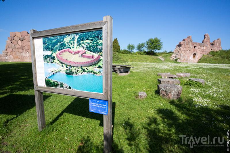 Руины крепости Бомарсунд на Аландских островах, Финляндия / Фото из Финляндии