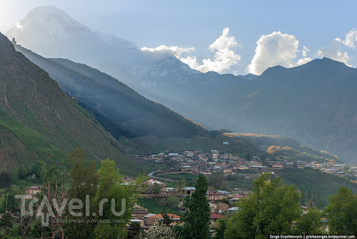 Поселок Гергети, Грузия / Фото из Грузии