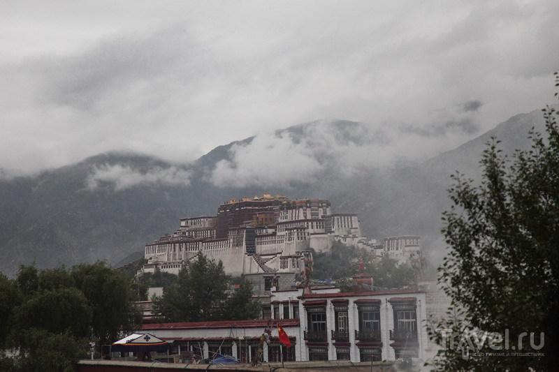 В городе Лхаса, Тибет / Фото из Китая