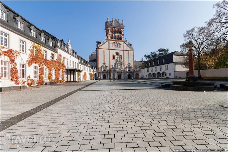 Аббатство святого Матфия в Трире, Германия / Фото из Германии