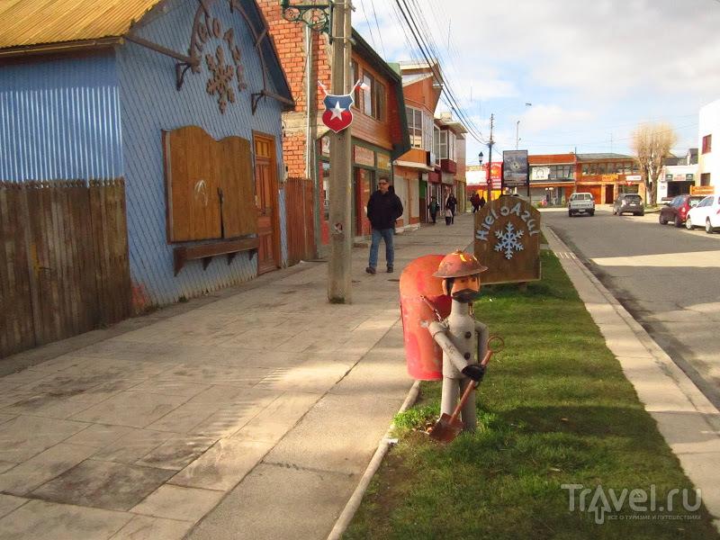 В городе Пуэрто-Наталес, Чили / Фото из Чили