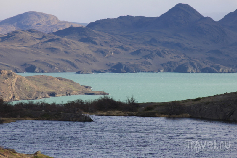 Озеро Норденскёолд, Чили / Фото из Чили