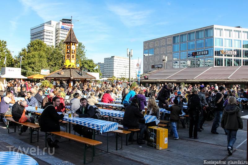 Александерплац в Берлине, Германия / Фото из Германии