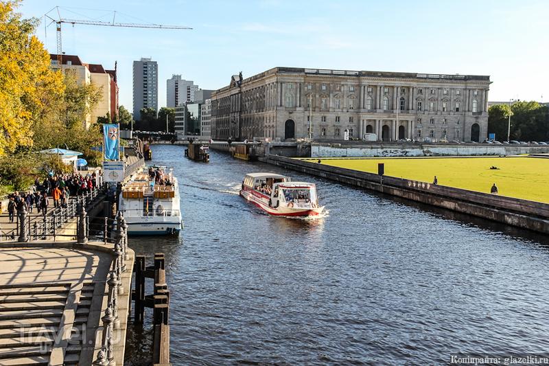 Река Шпрее в Берлине, Германия / Фото из Германии