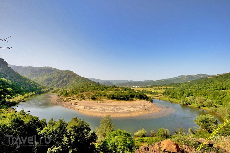 Излучина реки Арда, Болгария / Фото из Болгарии