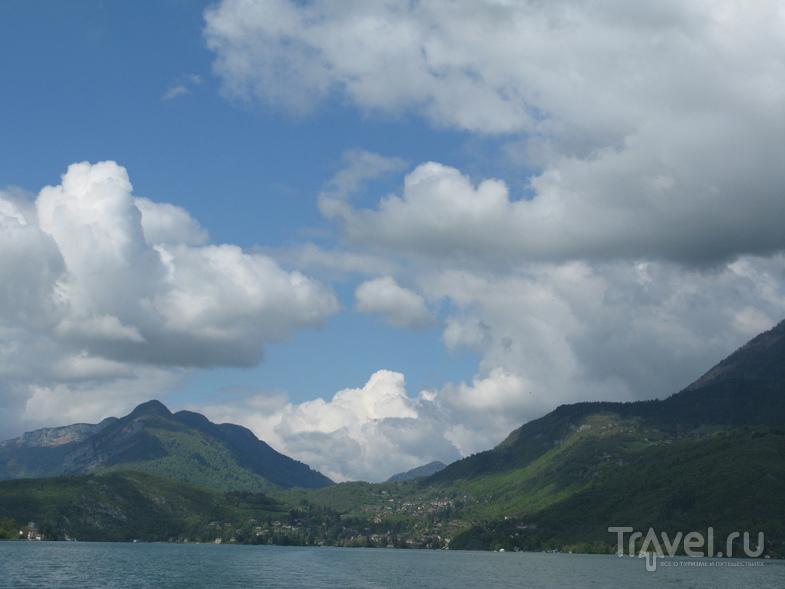 Озеро Анси, Сен-Бернар и Таллуар / Франция