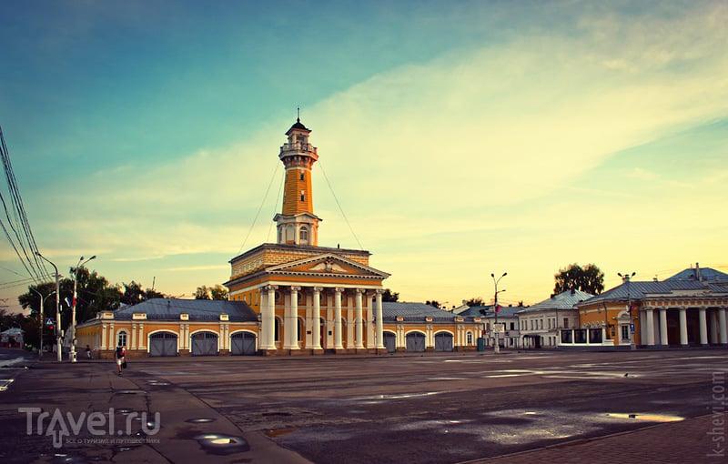 Пожарная каланча в Костроме, Россия / Фото из России
