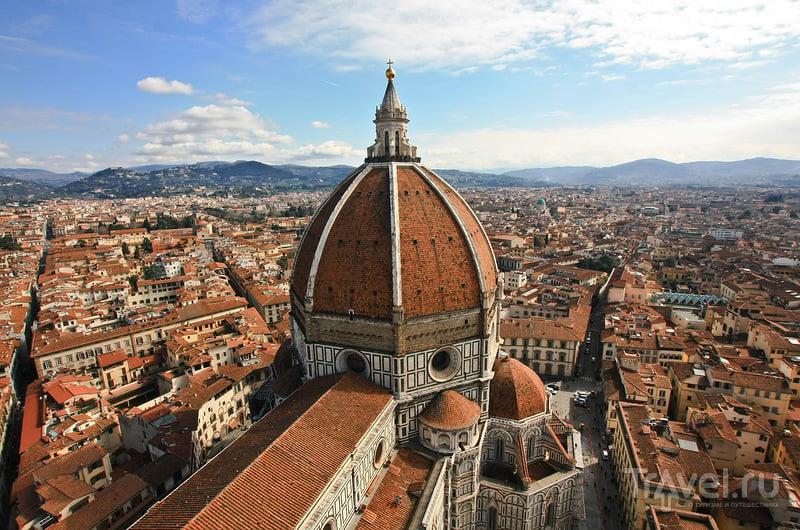 Смотровая площадка кампанилы Джотто у собора Санта-Мария-дель-Фьоре во Флоренции, Италия / Фото из Италии