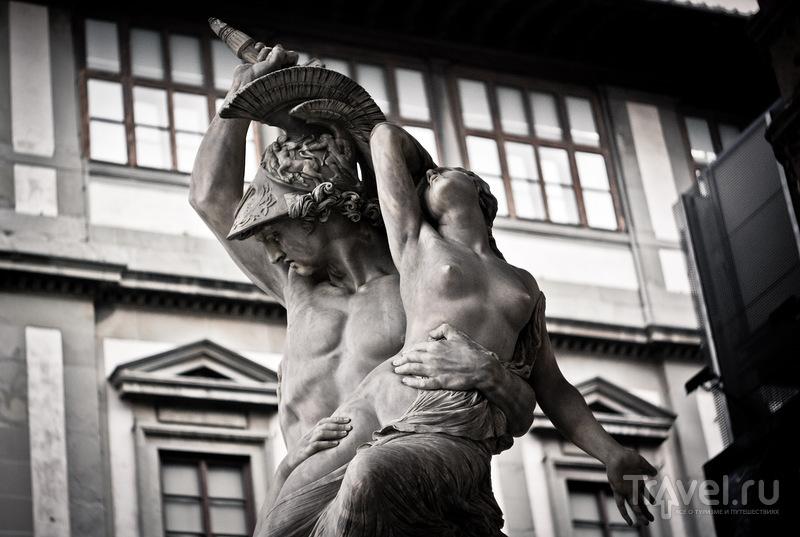На площади Синьории во Флоренции, Италия / Фото из Италии
