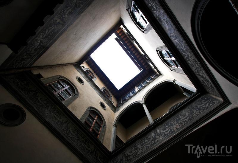 Палаццо-Веккьо во Флоренции, Италия / Фото из Италии