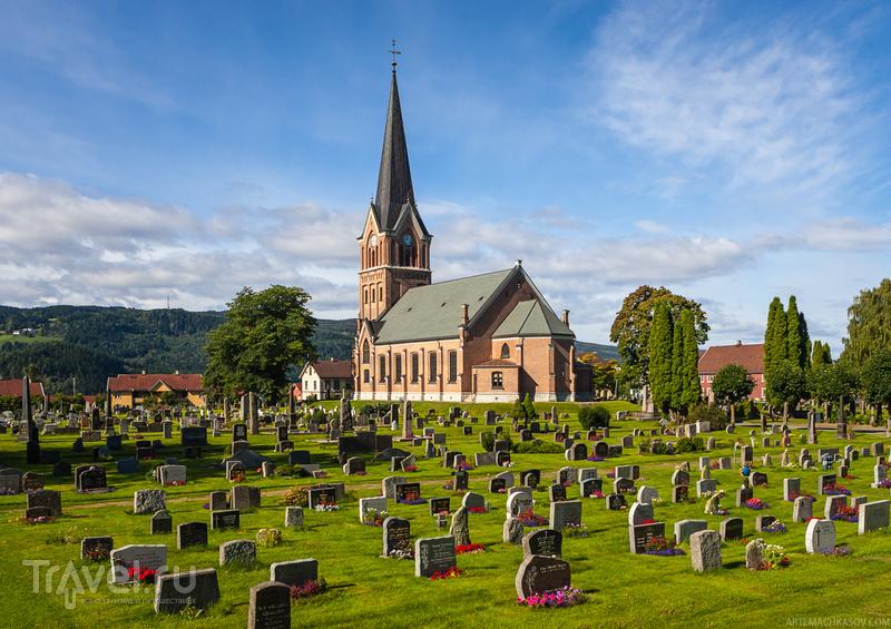 В городе Лиллихаммер, Норвегия / Фото из Норвегии