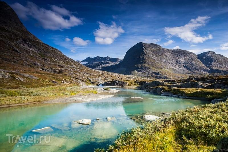 На перевале Тролльстиген, Норвегия / Фото из Норвегии