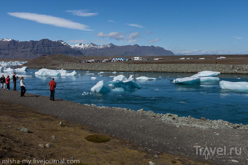 В ледниковой лагуне Йокульсаарлон, Исландия / Фото из Исландии