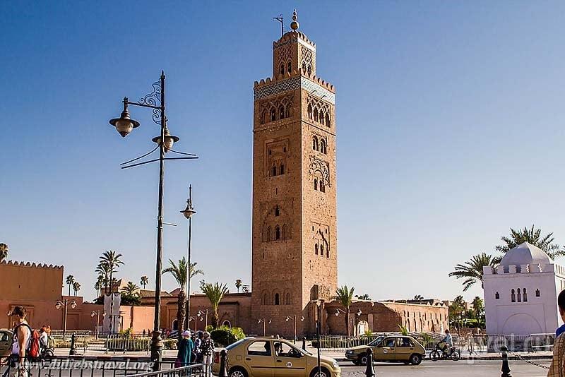 В городе Марракеш, Марокко / Фото из Марокко