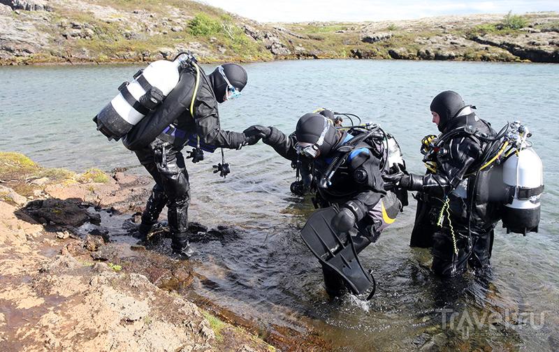 Ущелье Silfra: побывать в Европе и Америке одновременно / Фото из Исландии