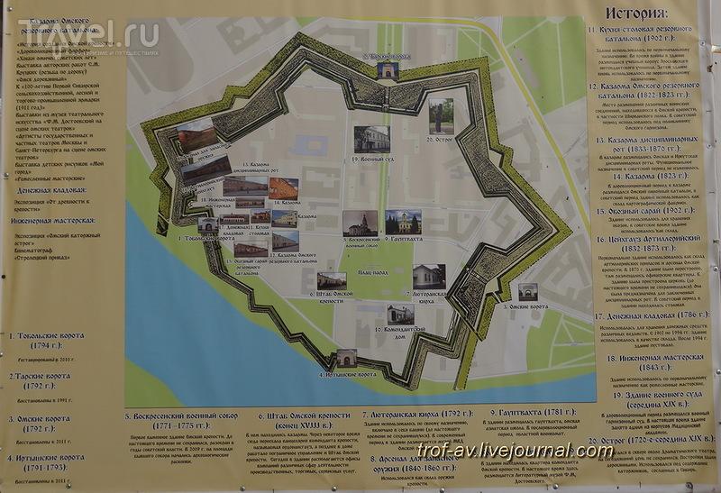 Историко-культурный комплекс Омская крепость / Россия