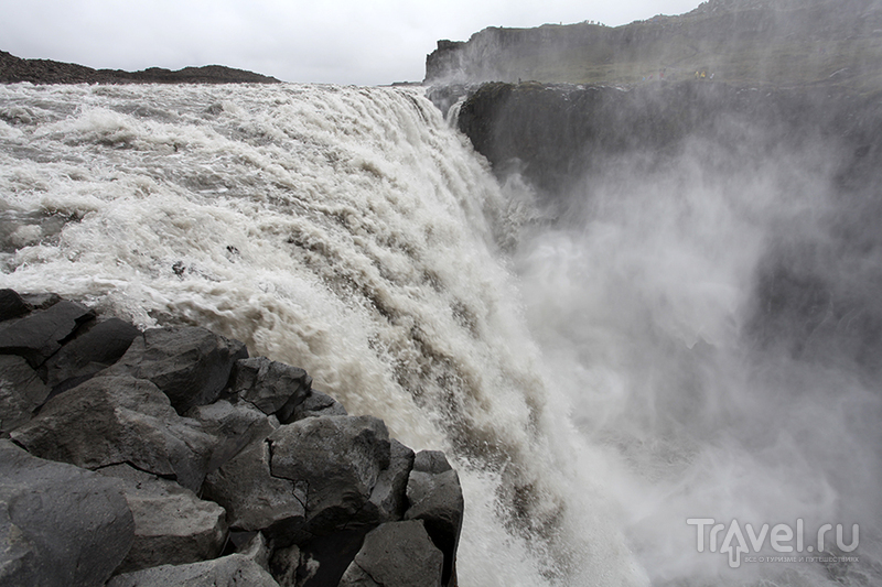 Водопад Dettifoss, Исландия / Фото из Исландии
