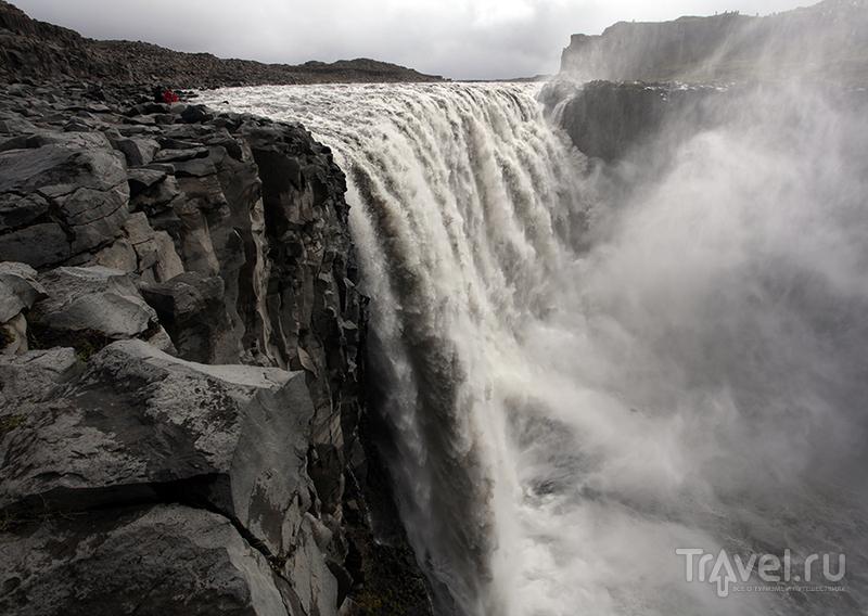 Водопад Dettifoss / Фото из Исландии