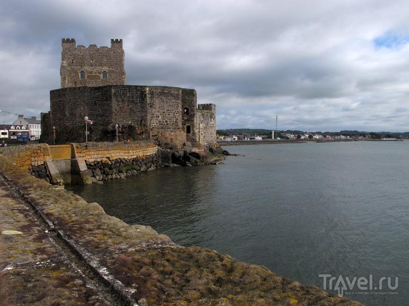 Carrickfergus Castle в Северной Ирландии, Великобритания / Фото из Великобритании