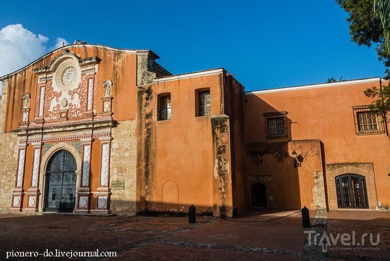 Здание монастыря Доминиканского ордена в Санто-Доминго, Доминикана / Фото из Доминиканской Республики