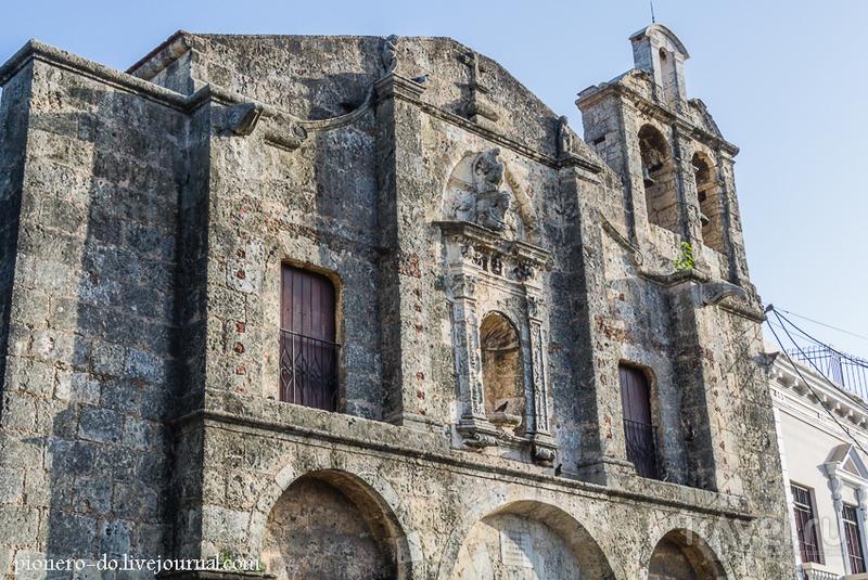 Церковь и монастырь Регина Ангелоруми в Санто-Доминго, Доминикана / Фото из Доминиканской Республики