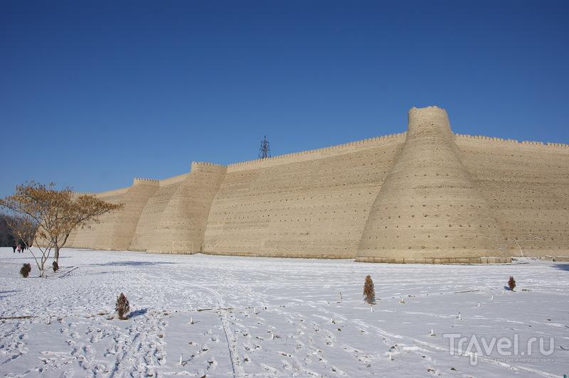 Крепость Арк в Бухаре, Узбекистан / Фото из Узбекистана