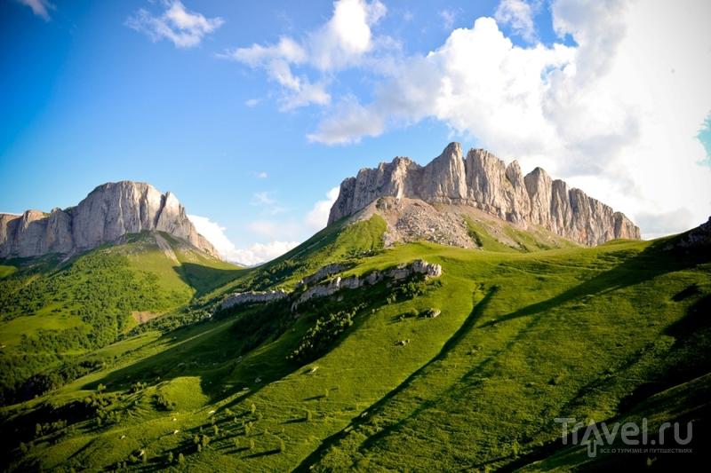 Гора Большой Тхач в Краснодарском крае, Россия / Фото из России
